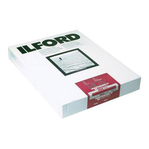 Ilford Multigrade IV RC Portfolio Resin Coated VC Variable Contrast Black & White Enlarging Paper - 8x10'' - 100 Sheets - Pearl Surface