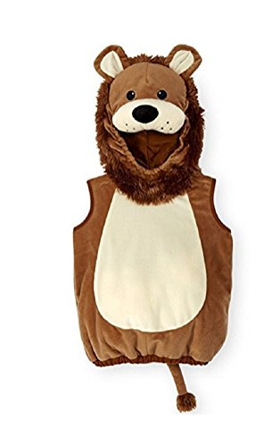 Koala Kids Baby Boys & Girls Lion Hooded Halloween Costume Vest (3-6 Months)]()