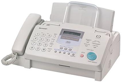 amazon com sharp ux355l plain paper fax machine fax machines