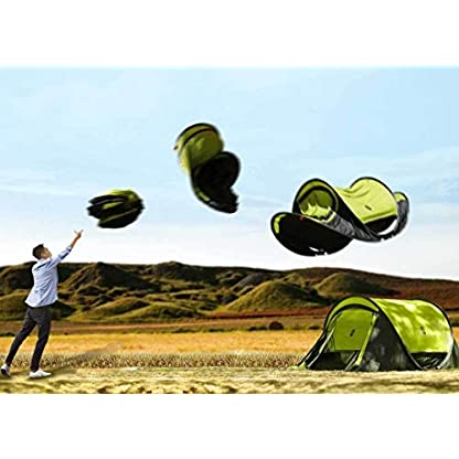 Zenph Pop Up Family Camping Tent, Waterproof Automatic Camping Tent,UV Cut for Camping Hiking Festivals 2