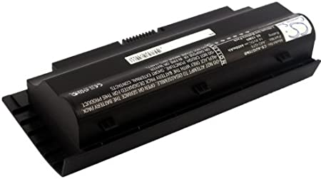 Asus A42-G75 Battery Li-ion, 14.80V, 4400mAh // 65.12Wh G75V Replacement for Asus G75 G75VM G75VW