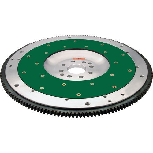- Fidanza 186481 Flywheel-Aluminum PC F15 High Performance, Lightweight with Replaceable Friction Plate
