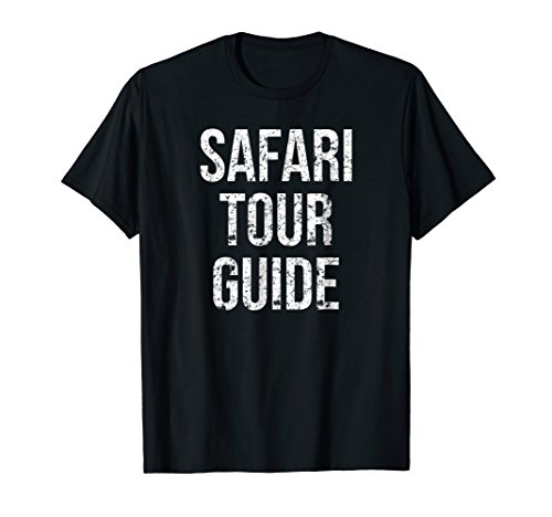 Safari Tour Guide Funny Easy Halloween Costume Joke T-Shirt -