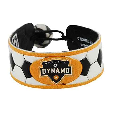 MLS Houston Dynamo Classic Soccer Bracelet - Gamewear Sports Bracelet
