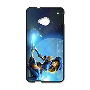 HTC One M7 Cell Phone Case Black Lux League of Legends 006 YE3435937