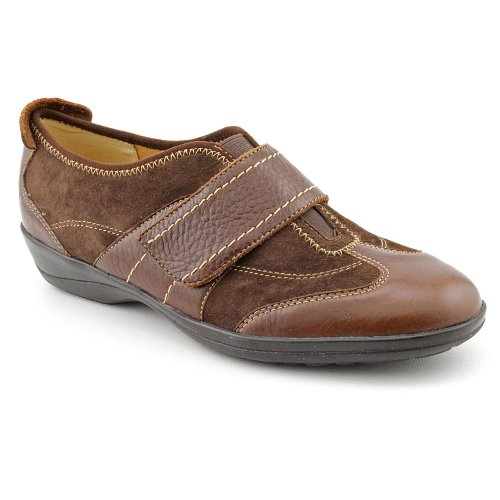 softspots Aeryn Color: Chocolate Leather/Chocolate Suede Width: Wide Womens Size: 7.5
