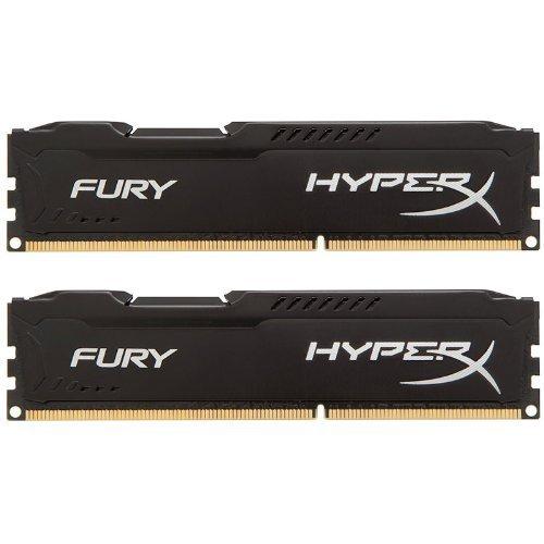 Kingston Hyperx Pc Memory (Kingston HyperX FURY 16GB Kit (2x8GB) 1866MHz DDR3 CL10 DIMM - Black (HX318C10FBK2/16))