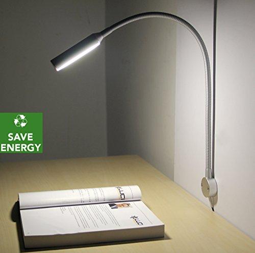 Acegoo Dimmable LED Task Lights Flexible Gooseneck Reading