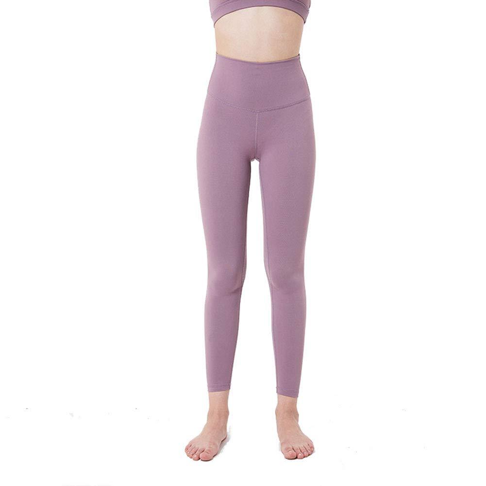 Imzoeyff Fitness Sport Enge Yoga Hosen Damen Hüften Hohe Taille Elastische Dünne Dünne Füße Neun Hosen Dünne Engen Leggings