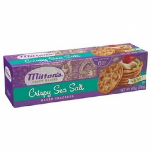- Milton's Crispy Sea Salt Baked Crackers (12x6.7Oz )