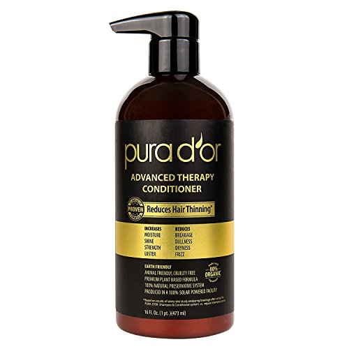 PURA DOR Advanced Therapy Shampoo Conditioner System 16 Fluid Ounce