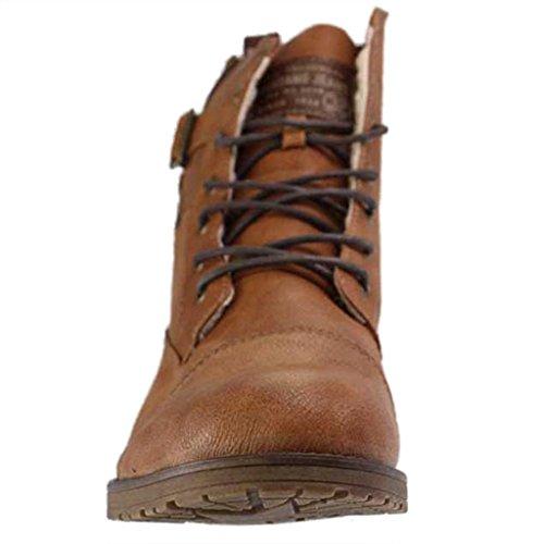 Mustang 4119601/301 - Botas de Material Sintético para hombre marrón Braun (Kastanie)
