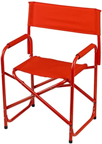 E-Z UP Directors Chair, Standard, Red