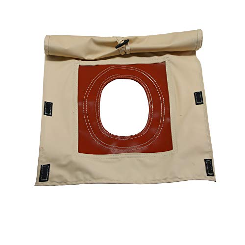 PlayDo Heavy Duty Fire Resistant Stove Jacket Hole Pipe Vent for 4 Season Camping Tent (5
