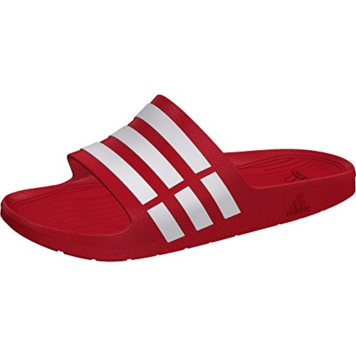 Uomo Rosso red Adidas Da Infradito Aq1zz8