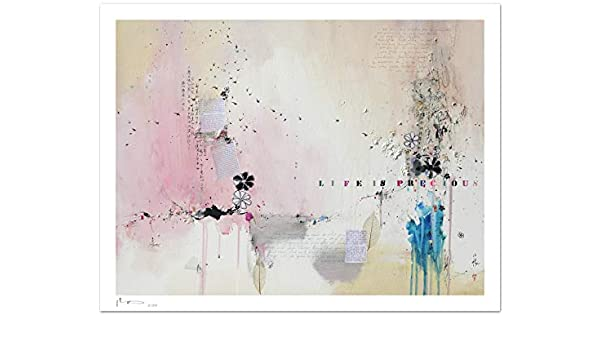 Reproducción de arte - Life is precious IX - sobre papel de acuarela 300g/m² con textura, de alta calidad: Amazon.es: Handmade
