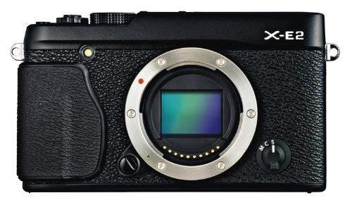 Fujifilm X-E2 Mirrorless Digital Camera (Black Body Only) - International Version (No Warranty)