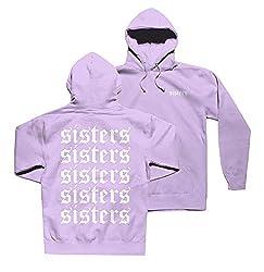 Riaopa Women S James Charles Sisters Hoodies Pullover Hooded Sweatshirts Burple L