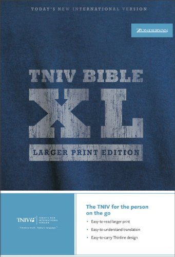Download TNIV Thinline Bible XL: Larger Print Edition pdf epub