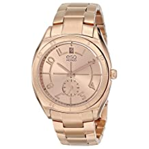 ESQ Movado Women's 07101402 esq Origin tm Tonneau-Shaped Rose-Gold Plated Watch