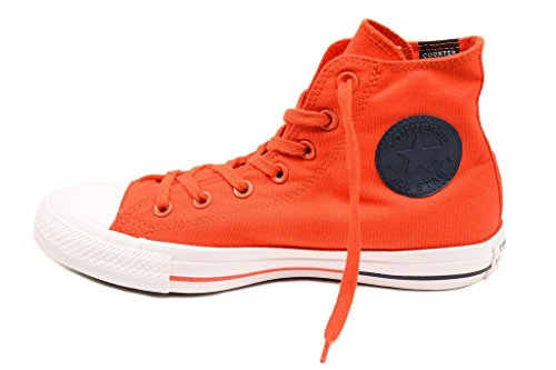 Red Converse CTAS Signal Obsidian Unisex White Sneakers 153794C nqXRp8q