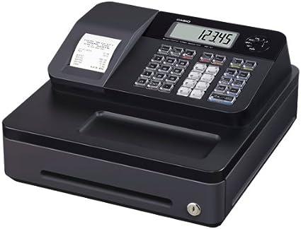 Casio SE-G1SB - Caja registradora, color negro: Amazon.es: Oficina y papelería