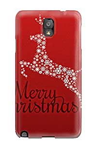 Sanp On Case Cover Protector For Galaxy Note 3 (2011 Merry Christmas)