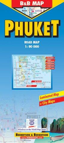 B&B Laminated Phuket Road Map ebook