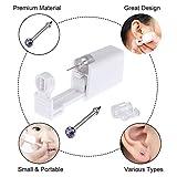 Nose Piercing Gun - Beautylu 2 Pack Self Nose