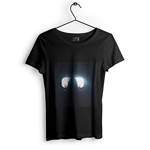 Solitude Silhouette - Unisex Tshirt - Picture Photography Artwork Shirt - Black Adult Medium (Solitude Wallpaper)