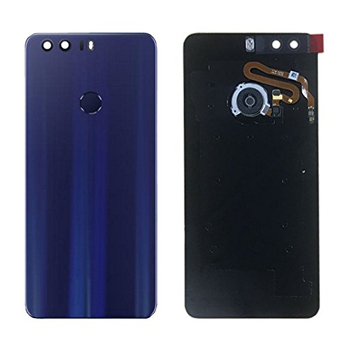 (General Rear Battery Door Housing Back Cover Replacement with Fingerprint Flex Cable for Huawei Honor 8 FRD-L04 L09 L14 L19 AL00 AL10 5.2