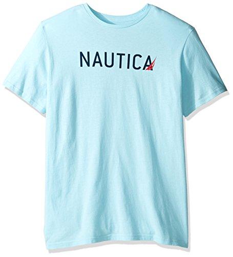 Nautica Signature Graphic Crewneck T Shirt