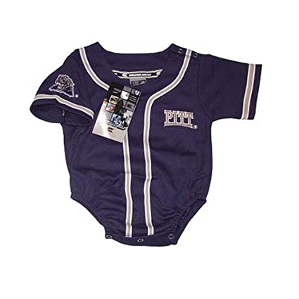 Image Unavailable. Image not available for. Color  Pittsburgh Panthers  Baseball Infant Baby Onesie Jersey ... 3e7eda897