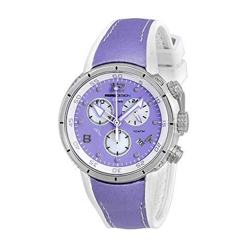 Momo Design Diver Pro Chronograph Ladies Watch 2205SS-51.