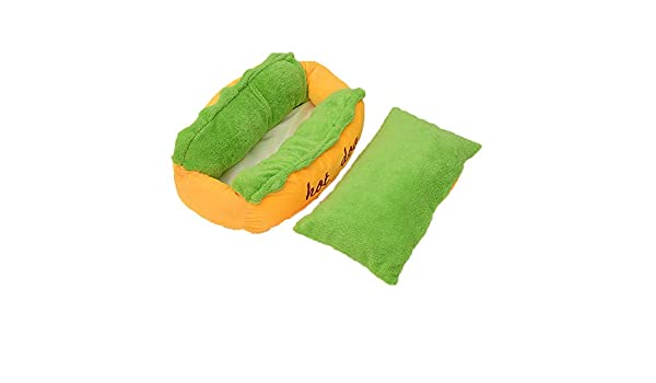 Amazon.com : Soft Warm Pet Bed Hot Dog Pad Pet Cushion U-Shaped Pattern Dog Cave, Cat Kennel, Warm Puppy Nest Mat Cat Winter House Cat Squirrel House Pet ...