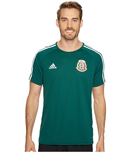 Mexico Training Jersey - adidas Men's Mexico Home Fan Shirt Collegiate Green/White Small