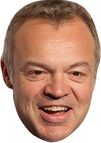 All Our Masks Are Pre-Cut! Graham Norton Version 2 Celebrity Card Mask