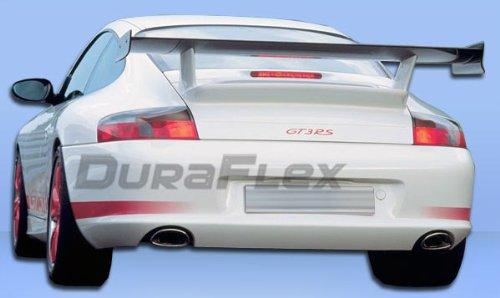 Duraflex Replacement for 1999-2004 Porsche 911 Carrera 996 C2 C4 GT-3 RS Look Rear Bumper Cover - 1 Piece ()