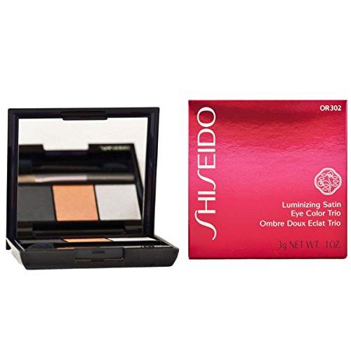 Shiseido Luminizing Satin Eye Color Trio - # OR302 Fire - 3g/0.1oz
