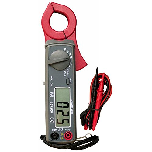 400A Digital Clamp Meter with Temperature Probe (Clamp 400a Digital)