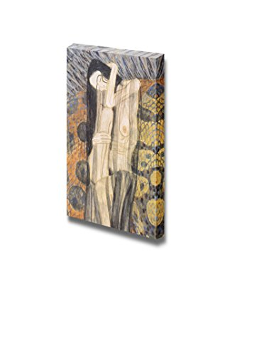 Beethoven Frieze 1902 by Gustav Klimt Print Famous Oil Painting Reproduction