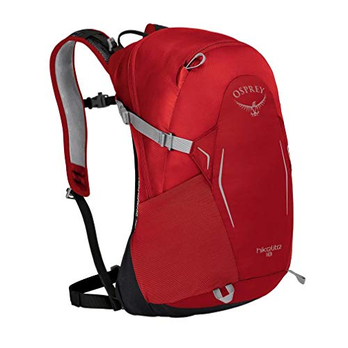Osprey Hikelite 18 Hiking Backpack One Size Tomato Red
