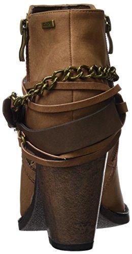 MTNG Collection 51590, Botas Cortas Mujer Marrón (SUED CUERO)