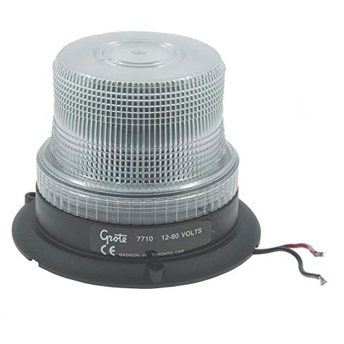 Grote 77101 Clear Mighty Mini Strobe (Single Flash)