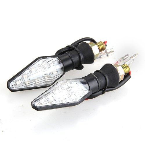62 opinioni per 2 Frecce Indicatore di Direzione Moto 12 LED Giallo Blu SMD3528 DC12V