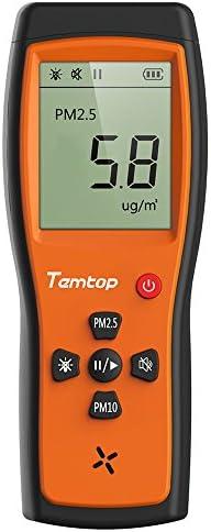 Temtop 공기 품질 레이저 파티클 탐지기 전문 미터 정확한 테스트 PM2.5PM10 LCD 디스플레이 P200 / Temtop 공기 품질 레이저 파티클 탐지기 전문 미터 정확한 테스트 PM2.5PM10 LCD 디스플레이 P200