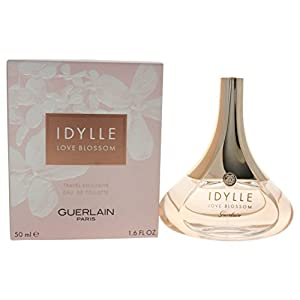 Guerlain Idylle Love Blossom Eau de Toilette, 1.7 Fluid oz