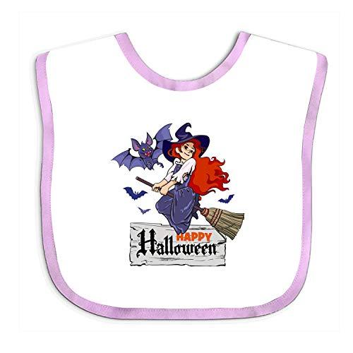 Halloween Witch Baby Joke Funny Parody Infant Baby Bib -