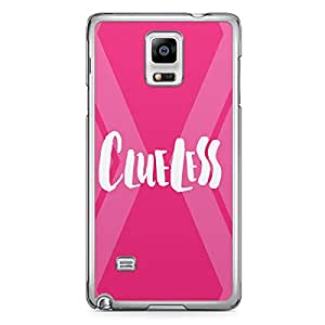 Clueless Samsung Note 4 Transparent Edge Case - Titles Collection