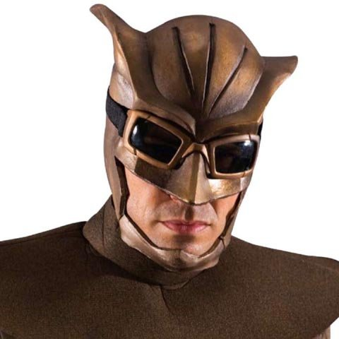Costume Dr Manhattan (Nite Owl Overhead Mask with Cowl Costume)